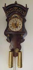 Warmink Sallander Dutch Zaanse Wall Clock Moonphase Wuba Tempus Fugit Dial