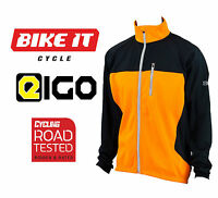 2016 Eigo Levanter Windproof Cycling Thermal Jacket For Winter Road Cycle Orange