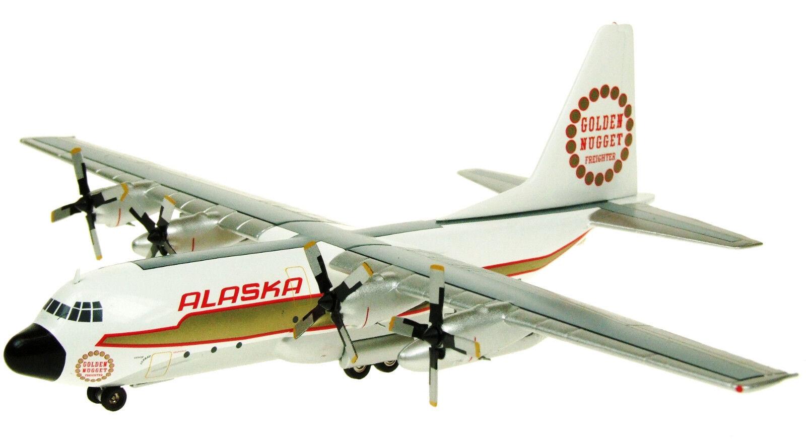 INFLIGHT 200 IF1300214 1 200 L-100 HERCULES L-382B ALASKA AIRLINES N9227R