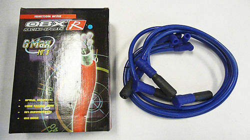 Obx Blue Silicone Spark Plug Wires For 1996 To 2000 Chevy