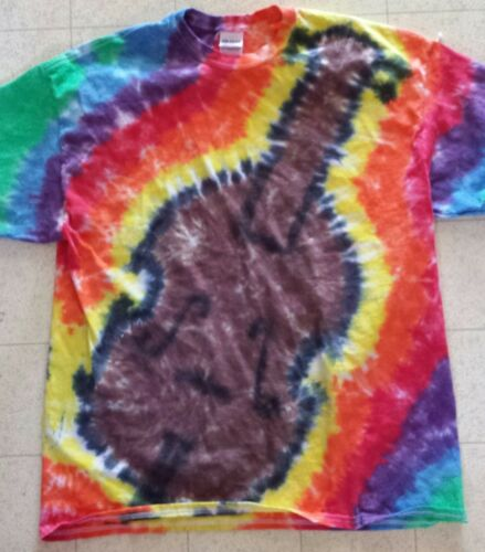 BANJO CELLO VIOLIN TRUMPET SAXOPHONE PIANO KIDS Handmade Tie Dye shirt MUSIC