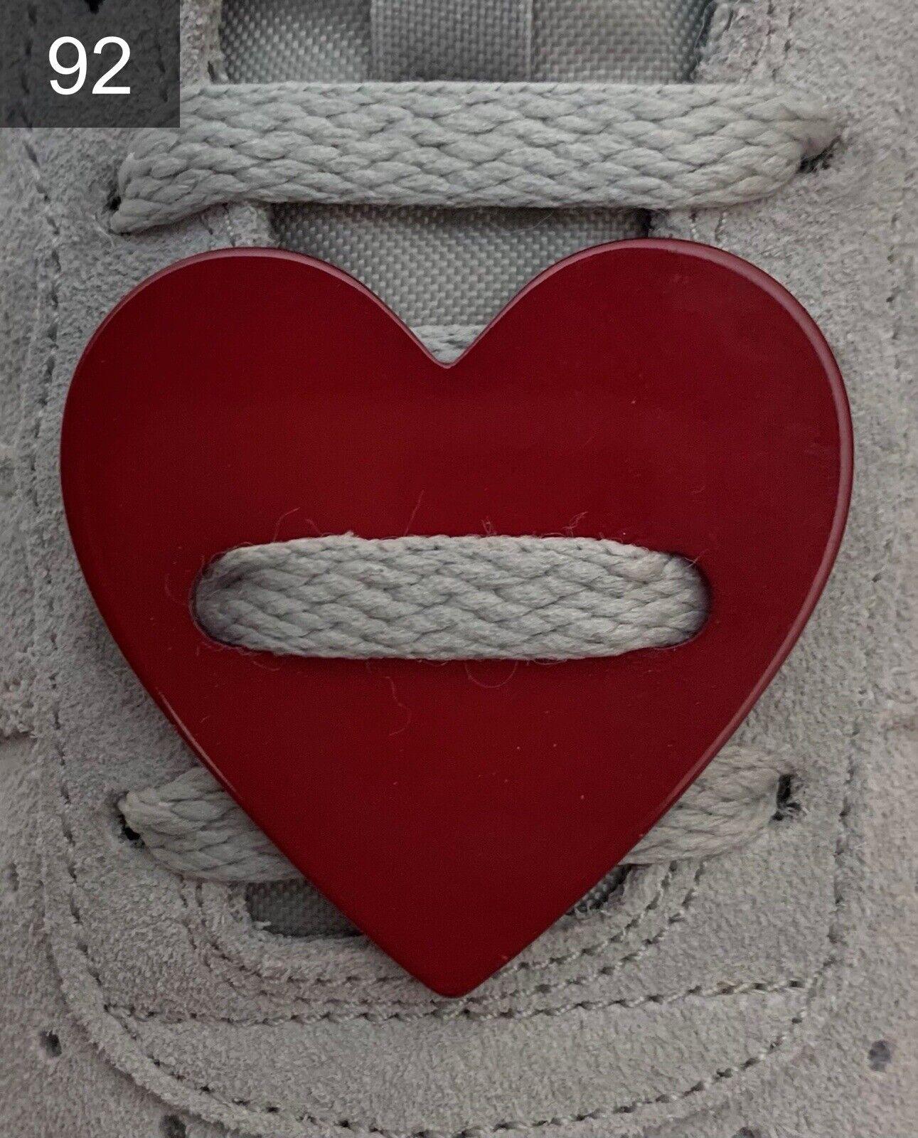 ❤ nuevo Dr. Martens converse hebillas intercambiables Lace Locks Buckles corazón ❤
