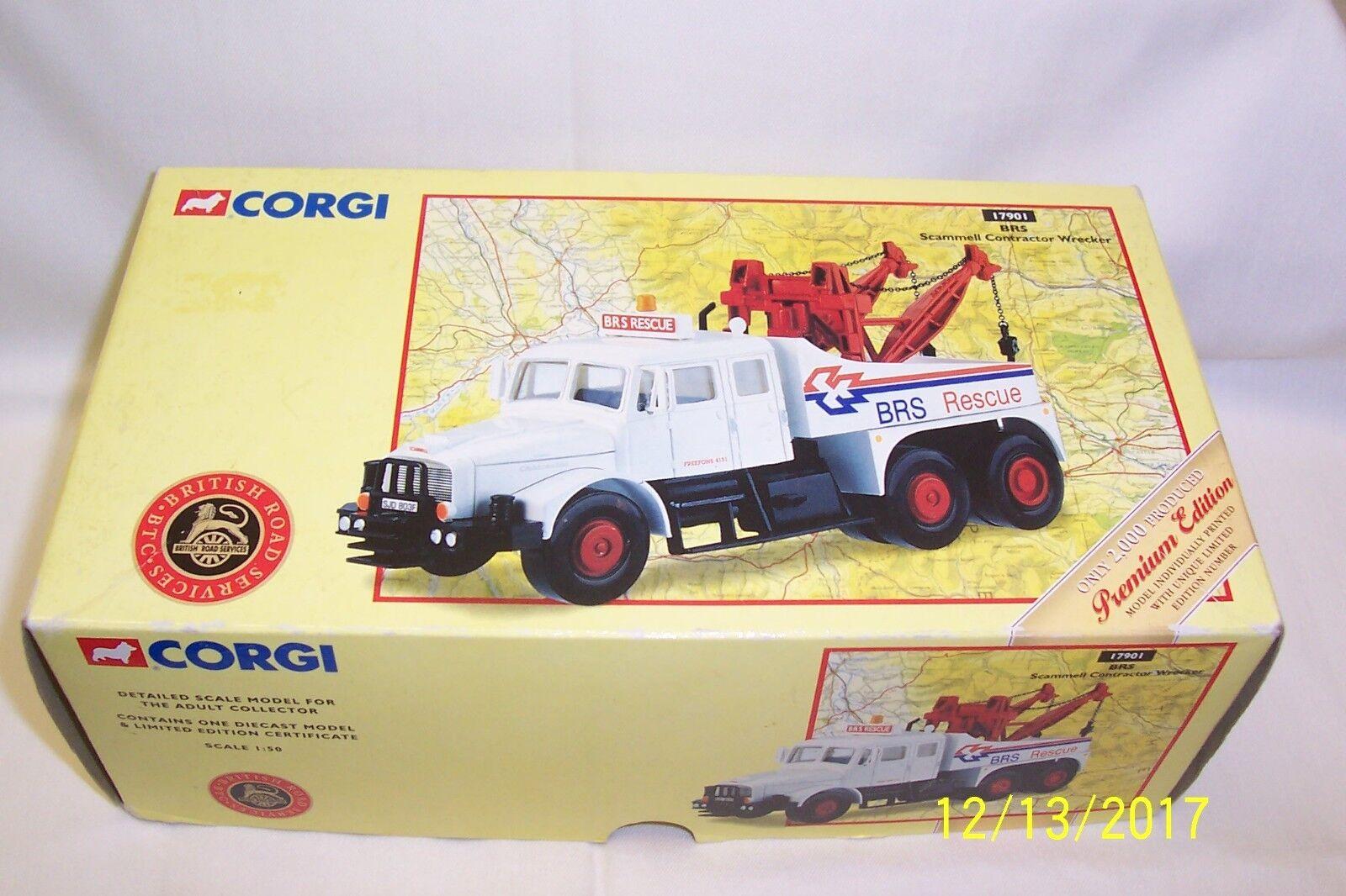 Corgi-Camioneta Moderno-transporte pesado-Scammell contratista Grúa-Brs..