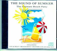 (EI526) The Sound Of Summer, The Ultimate Beach Party - 1993 sealed CD