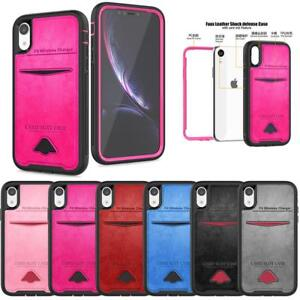 For-Apple-iPhone-X-XS-XR-Max-Rugged-Case-Protective-Hybrid-Shockproof-Cover