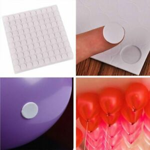 100-points-Balloon-attachment-glue-dot-attach-balloons-to-ceiling-or-wall-SD