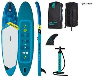 AZTRON TITAN 11.11 inflatable SUP Stand up Paddle Board 363x80x15cm