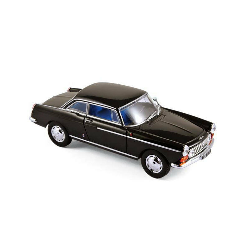 Norev 474431 474431 474431 Peugeot 404 Coupe black 1967 Maßstab 1 43 Modellauto NEU ° 4d0549