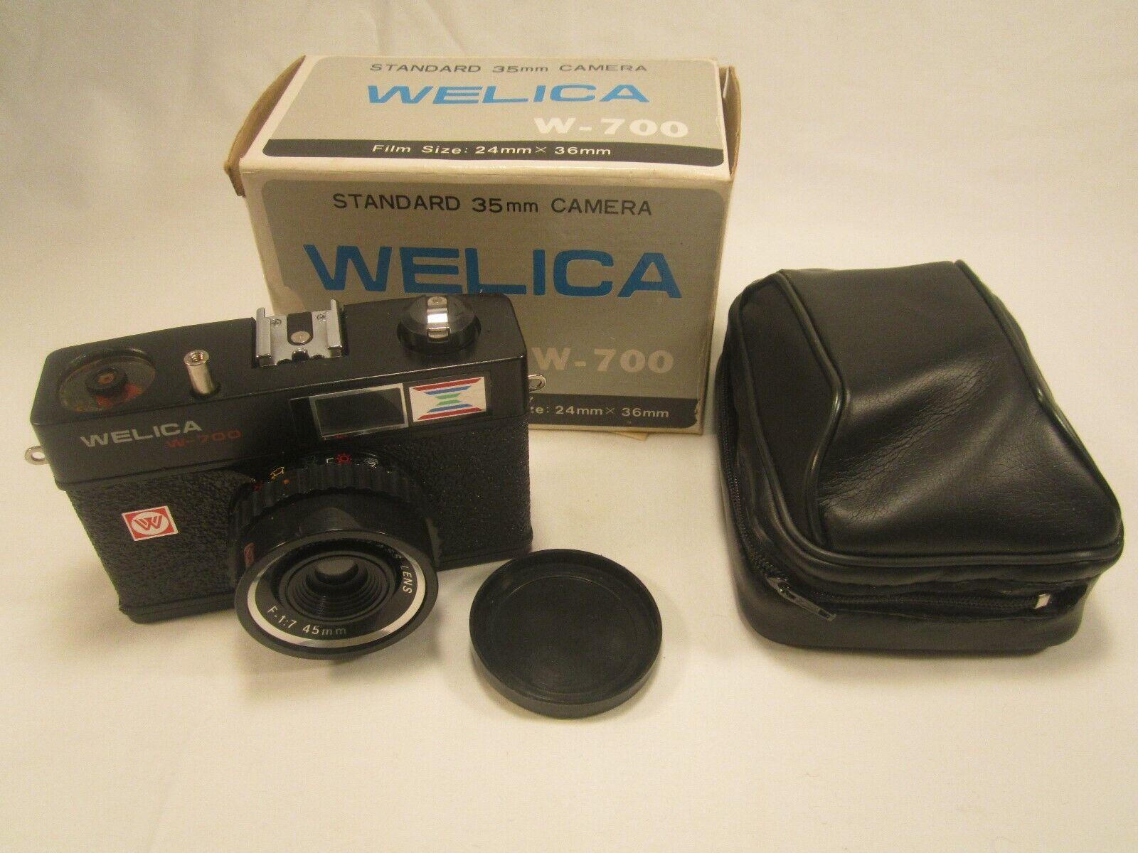 Vintage Camera WELICA W-700 Standard 35mm LOS ANGELES CA [Y115a]