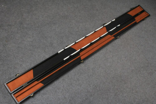 Brand New One Piece Patchwork Leatherette Cue Case G6579