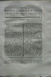 1794-RARA-RIVISTA-SU-VINO-TOCAI-FABBRICAZIONE-SAPONE-ARTE-DEL-CARBONAIO