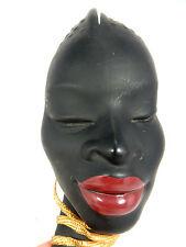 "Schöne 50´s design Cortendorf Keramik pottery Wandmaske  "" African Beauty "" 3679"
