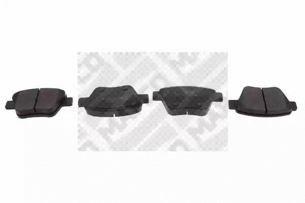Brake Pad Set, disc brake MAPCO 6959