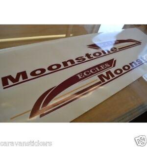 STERLING Eccles Moonstone STYLE Caravan Stickers Decals - Graphics for caravanscaravan stickers ebay