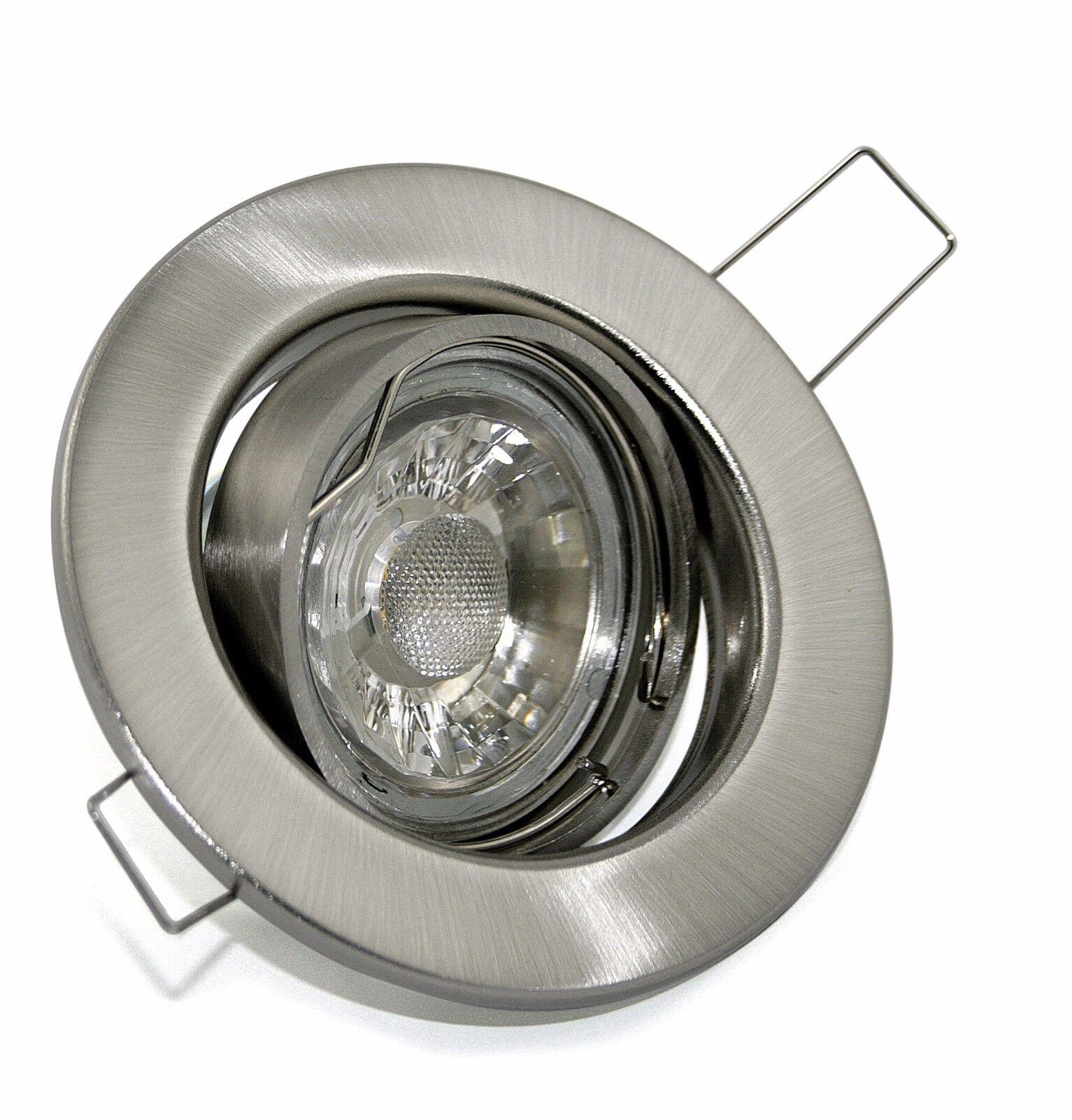 LED Decken Einbaustrahler 230V GU10 LED LED LED 3W 5W 7W DIMMBAR Downlights TOM K9222 018ee4