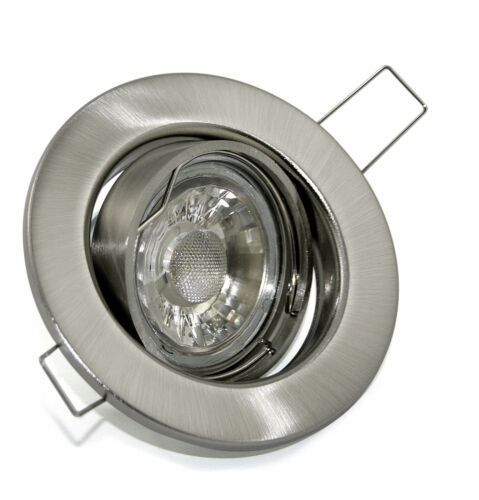 5-15er Sets k9222 230 V DEL 5 W Installation projecteur Installation Spots De Plafond Spots Bon état variateur
