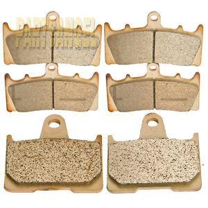 Front Rear Sintered Brake Pads For GSX-R1000 GSXR1000 GSXR 1000 2001 2002