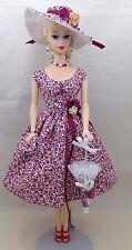 Barbie vintage, reproduction, repro - Handmade Dress & Accessories - 8 pieces !