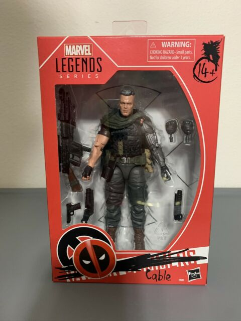 Hasbro Marvel Legends Series Deadpool 2 Cable Action Figure Josh Brolin Goonies!