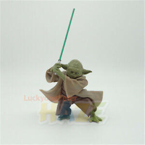 Star-Wars-The-Force-Awakens-Yoda-Fencing-Style-5-034-Action-Figure-Model-Toy