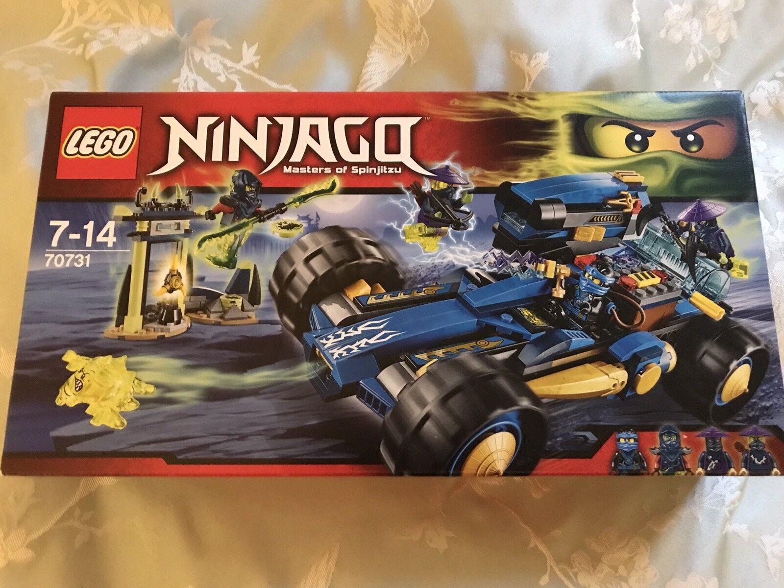 Profitez de la fin de l'année, copiez le le le prix du cadeau, c'est au-delà de votre imagination! Lego 70731 Ninjago EntièreHommes t neuf dans sa boîte retraité Set 9d3a9b