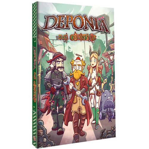 DEPONIA Hardcover DAS ROLLENSPIEL GRUNDREGELWERK FATE 1A-Ware