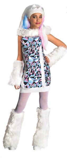 2019 Nuevo Estilo Rubie's Monster High Abbey Bominable Sofisticado Vestido Halloween Grande De 8-10 Años-ver Distintivo Por Sus Propiedades Tradicionales.