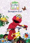 Elmo's World Springtime Fun 0074645418193 With Alice Dinnean DVD Region 1