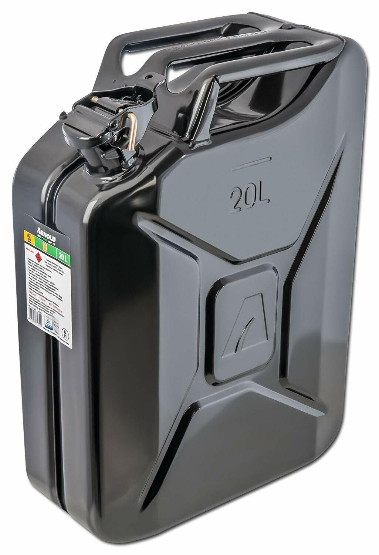 ARNOLD 6011-X1-2002 Bidon Métallique schwarz, 20 L