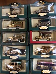 LLEDO-Days-Gone-GOLD-CLUB-EDITION-models-Ford-Dennis-Chevy-Austin-Morris-AEC