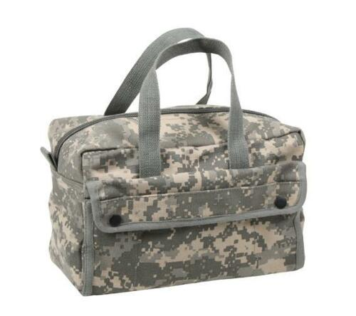 MECHANIC TOOL BAG 4 POCKETS HEAVY DUTY BLACK,CAMO,ACU