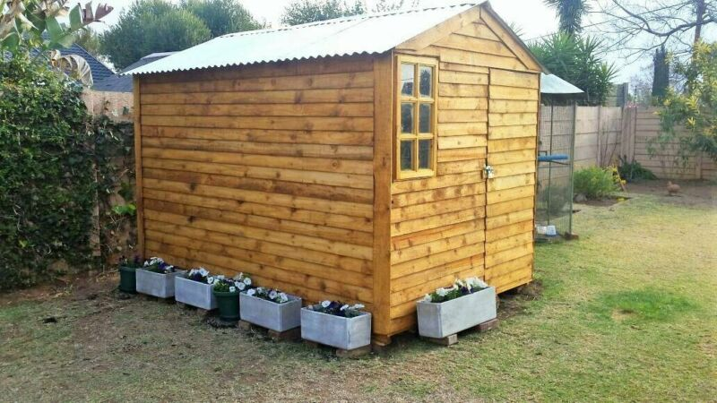 Quality 2mx2m  Home Storage Wendy Houses& Garden Sheds. Lowest Price Guarantee