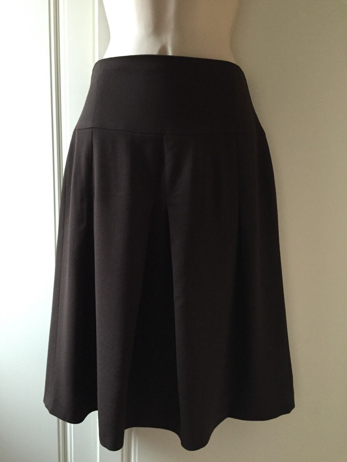 CARACTERE Brown Skirt - Size 10 - BNWT - RRP