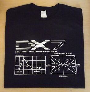 RETRO-SYNTH-DX7-DX-DESIGN-2-ADSR-T-SHIRT-S-M-L-XL-XXL