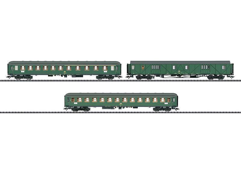 Trix 23499 -eilzugwagen-set 1 mdyge 986 , Abm 225 225 225 , BM 234 114114
