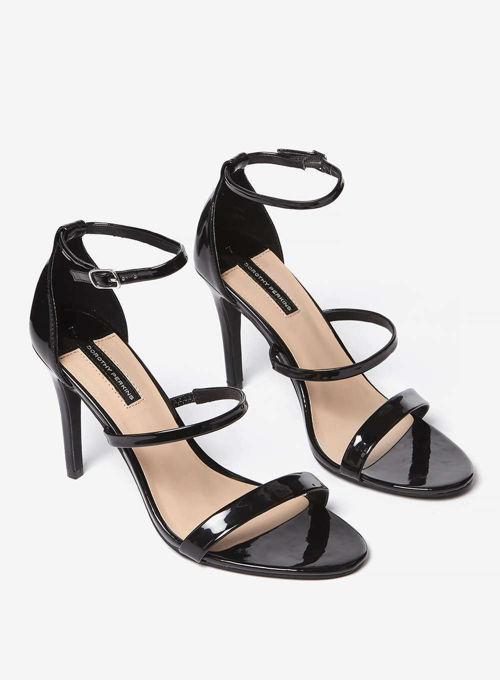 Dorothy Perkins Black High Heels Party Evening Office shoes (NEW) size 5 £30.00