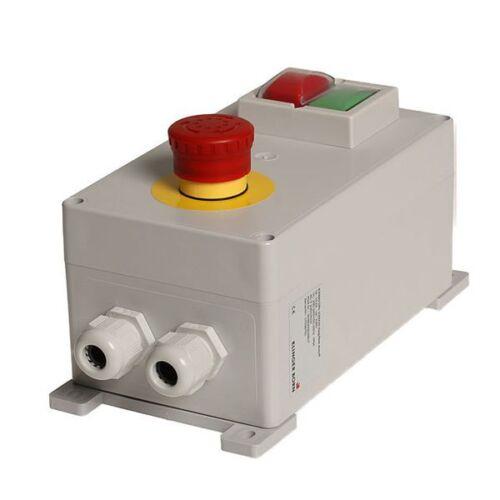 bis 7,5KW Unterspannungsauslöser IEC204-1 Maschinen Schalter 3008 Not-Aus