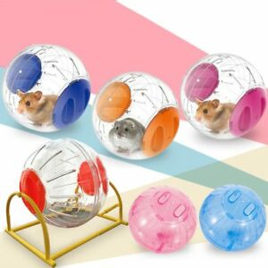 Hamster Running Ball Grounder Small Pet Gerbil Rat Activity