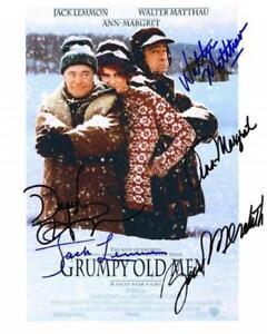 Details about REPRINT - GRUMPY OLD MEN Cast Autographed Signed 8 x 10 Photo  Poster RP