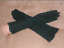 GORGEOUS-Vintage-1940-039-s-Black-Beaded-Cotton-Evening-Gloves thumbnail 1
