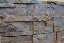 Concrete molds Plaster Wall Stone Cement Tiles mould ABS plastic set 9 pcs W02