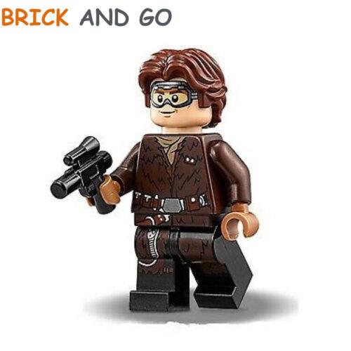 LEGO Minifigure Star Wars SW0949 Han Solo Goggles Blaster NEUF NEW