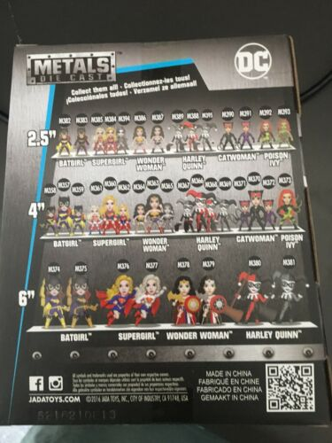 """Jada Harley Quinn Chaser Chase Figure 4/"""" inches DC Comics DieCast"""