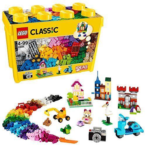 LEGO Classic 10698 - Scatola Mattoncini Creativi, Grande  l1a