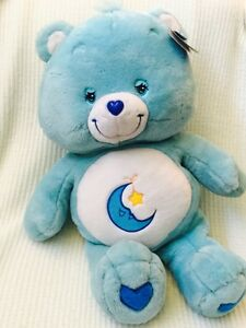 "NWT Care Bears Large 2002 Jumbo 26"" Stuffed Plush BEDTIME ..."