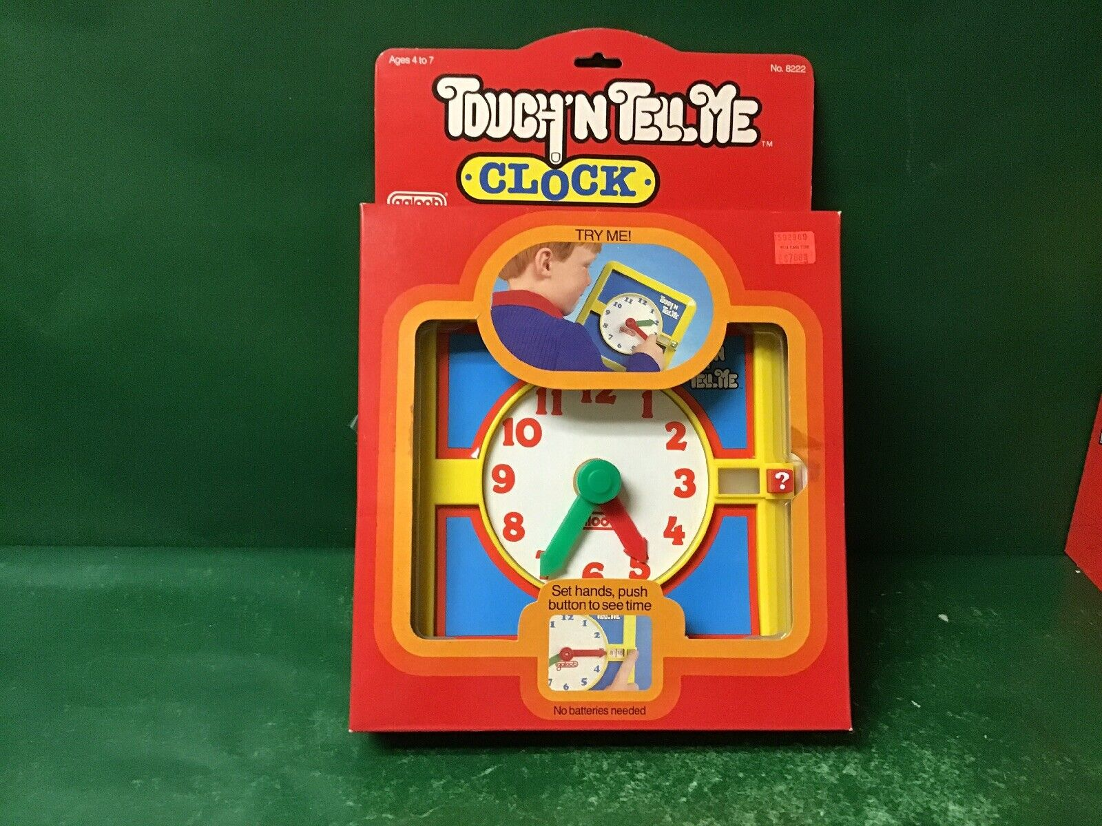 1988 Touch 'n dime  Reloj  NIB por Galoob