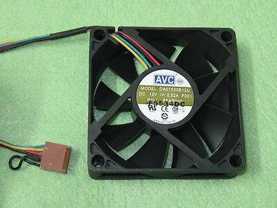 1PCS AVC 7520 DA07520B12U DC12V 0.52A server CPU double ball cooling fan