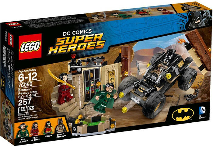 LEGO 76056  Super Heroes Batman : Rescue from Ra's al Ghul  (New sealed)