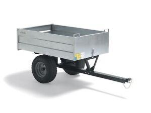 Garten & Terrasse Radient Stiga Anhänger Pro Cart Artikel 13-3906-11 Stahlblech Neu Seien Sie Im Design Neu Rasenmäher