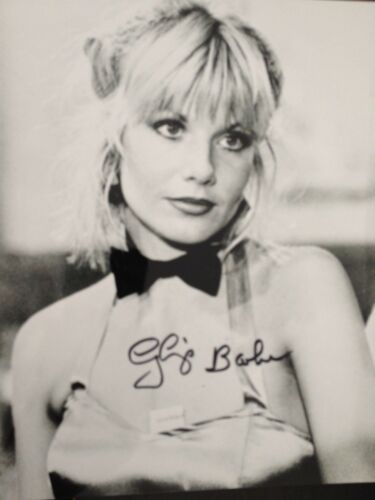 GLYNIS BARBER EXCELLENT SIGNED B//W PHOTOGRAPH DEMPSEY /& MAKEPEACE ACTRESS
